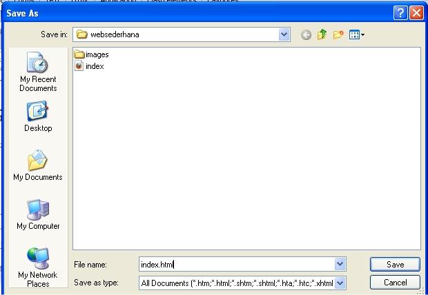 Membuat Web Sederhana Dengan Macromedia Dreamweaver | Tutorial HTML ...